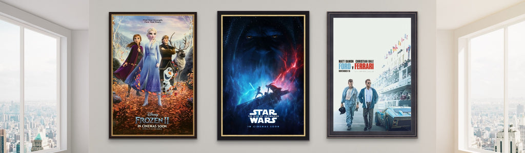A selection of movie posters from 2019