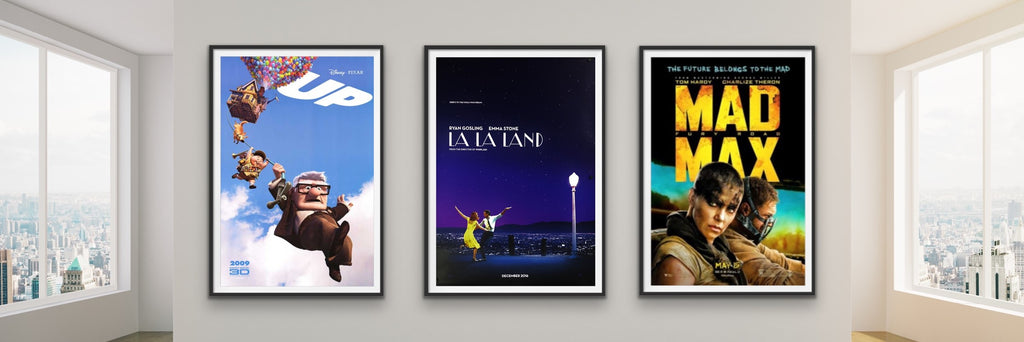A selection of movie posters from the 21st Century