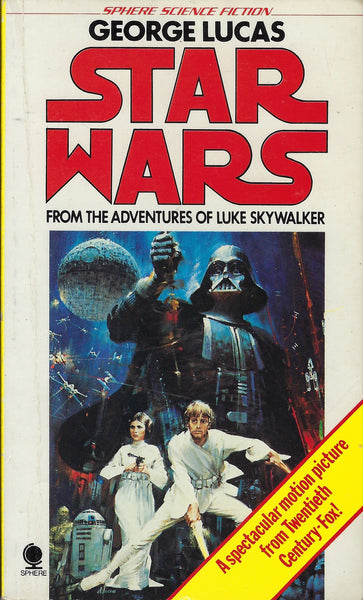 The cover of Star Wars From the Adventures Of Luke Skywalker with art by John Berkey