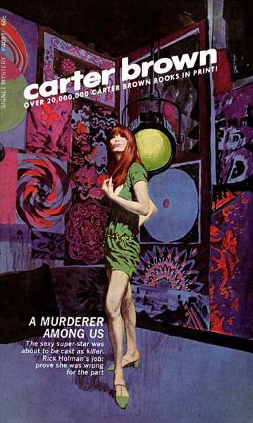 A book cover by illustrator Robert McGinnis