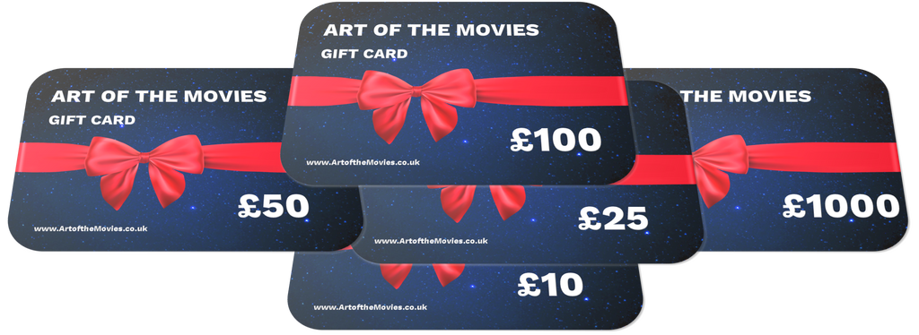 ART OF THE MOVIES Gift Cards