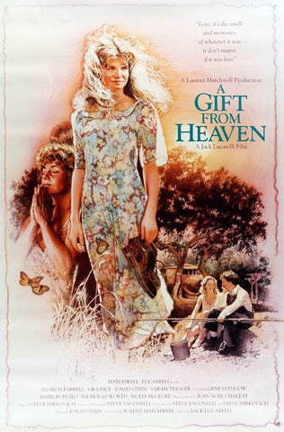 An original movie poster for the film A Gift From Heaven