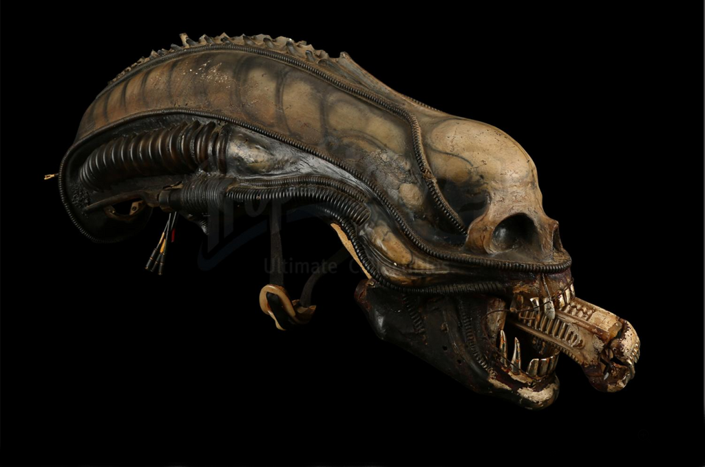 There is no better example of horror design that the work by H.R. Giger on Ridley Scott's 1979 classic 'Alien'.