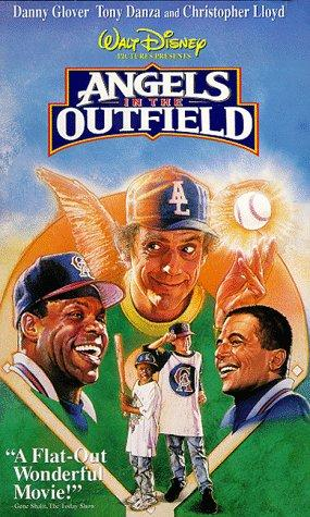 An original movie poster for the film Angel's In The Out Field