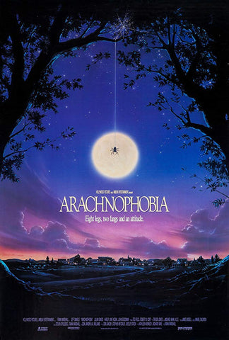 An original movie poster for Arachnophobia by John Alvin