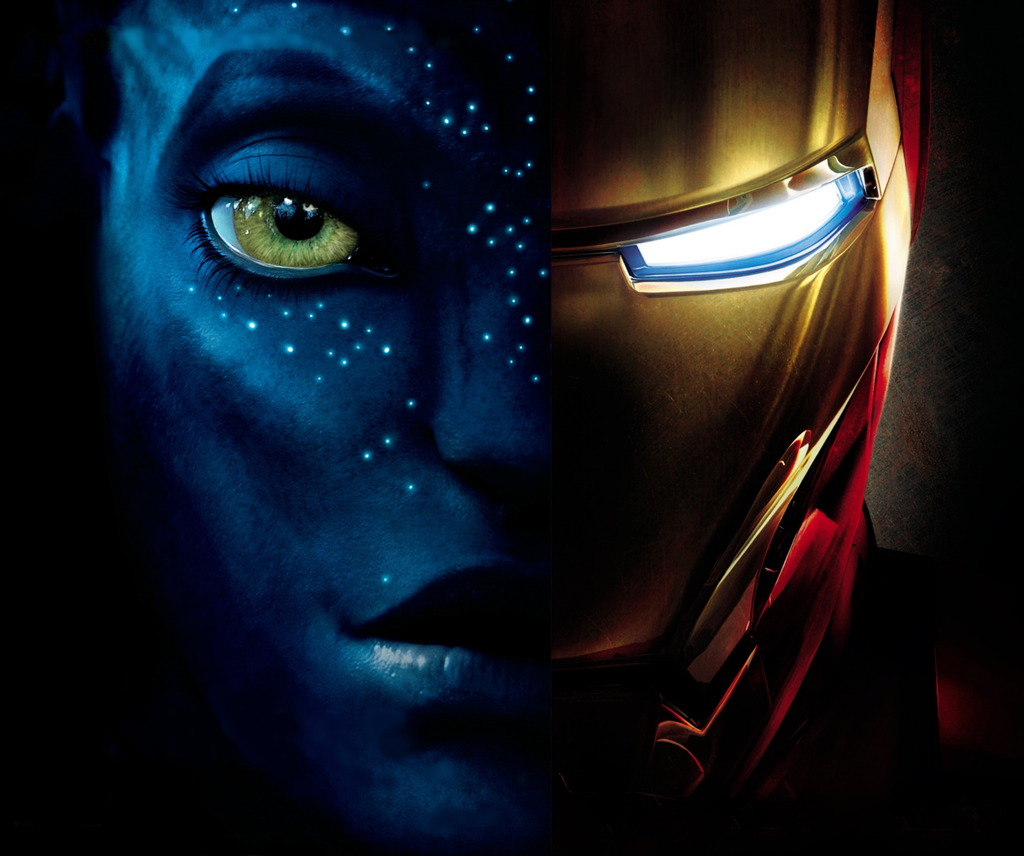 Avatar and Iron Man