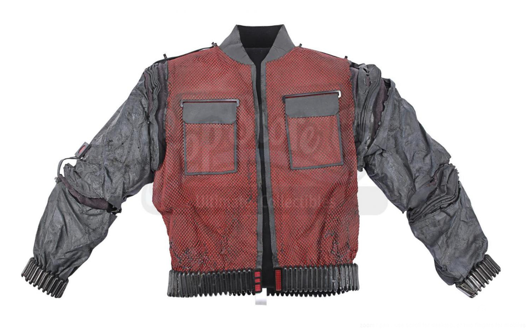 An original Back To The Future Marty McFly jacket