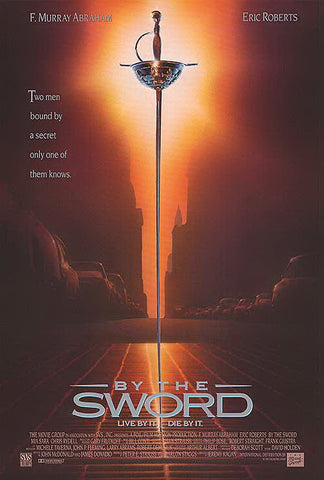 An original movie poster for the film By The Sword by John Alvin