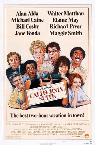 An original movie poster for the film California Suite