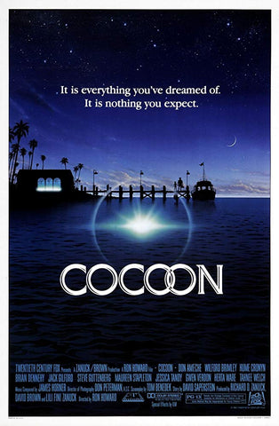An original movie poster for Coccon by John Alvin