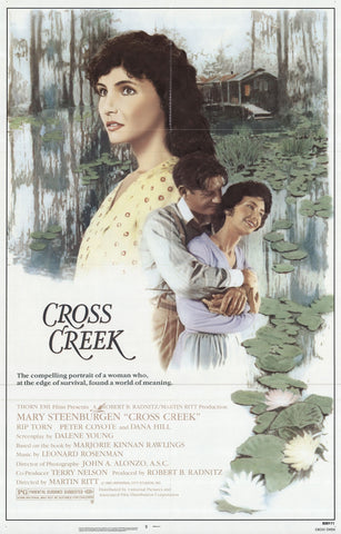 An original movie poster for the film Cross Creek