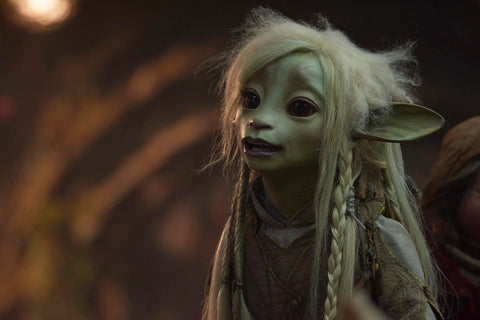 Deet from The Dark Crystal Age of Resistance, voiced by Nathalie Emmanuel