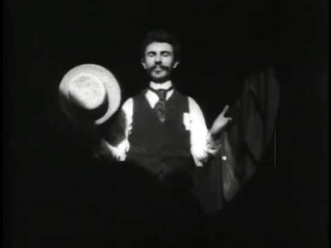 A still of William Kennedy-Laurie Dickson from 1891's Dickson's Greeting