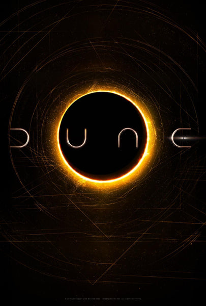 A teaser poster for the 2020 film Dune