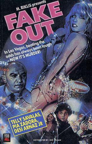 An original movie poster for the film Fake Out