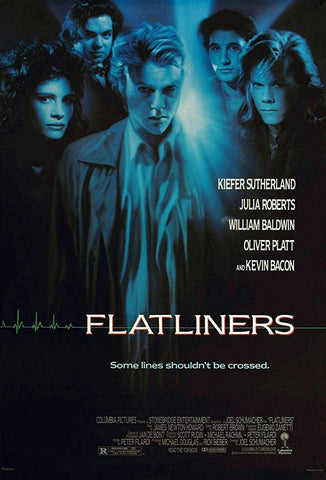An original movie poster for the film Flatliners by John Alvin