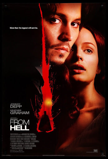 The movie poster for the film From Hell