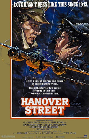 An original movie poster for Hanover Street by John Alvin