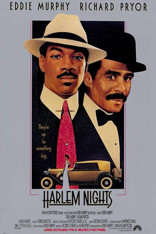 An original movie poster for the film Harlem Nights