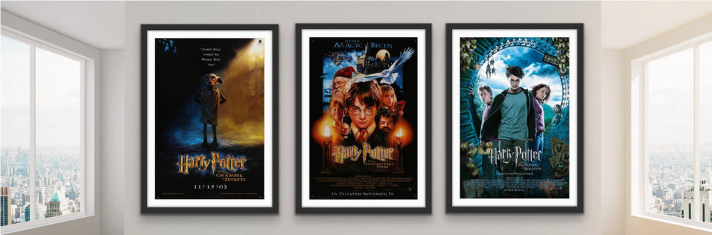 Original Movie Posters for the Harry Potter films