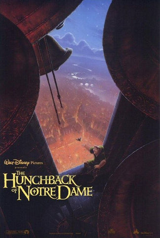 An original movie poster for the film The Hunchback of Notre Dame by John Alvin