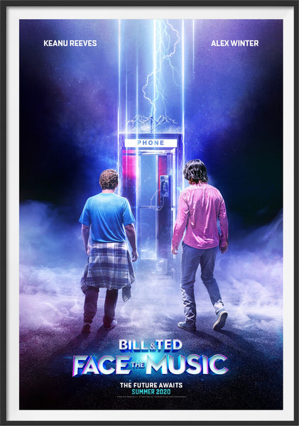 The first movie poster for Bill and Ted Face The Music