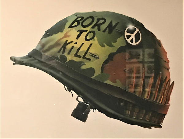 Philips Castle's air brush painting for the Full Metal Jacket movie poster