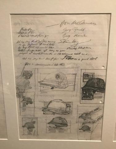 Philip Castle's concept drawings for Full Metal Jacket