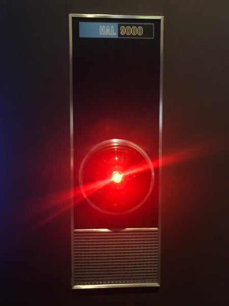 The HAL 9000 computer from Kubrick's 2001 A Space Odyssey