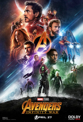 Paul Shipper's movie poster for the film Avengers : Infinity War