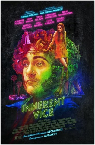 A movie poster for the film Inherent Vice