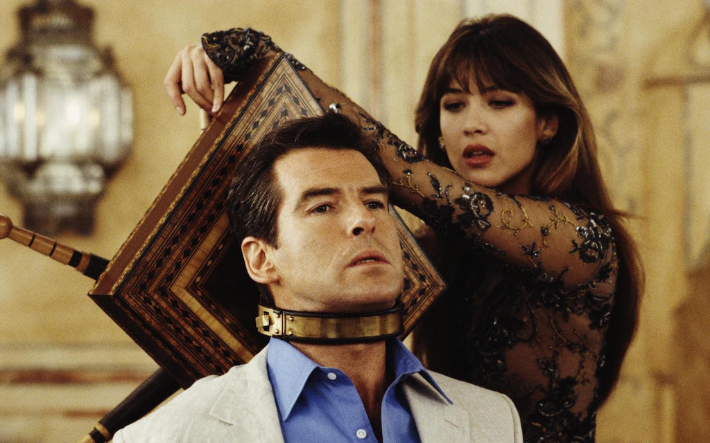 Sophie Marceau as Elektra King in the James Bond film The World is Not Enough