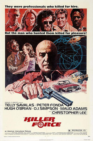 A movie poster for the film Killer Force