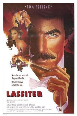 The movie poster for the film Lassiter