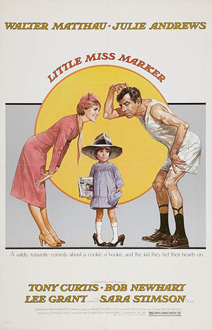 An original movie poster for the film Little Miss Marker