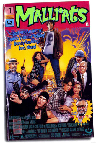 An original movie poster for the film Mallrats