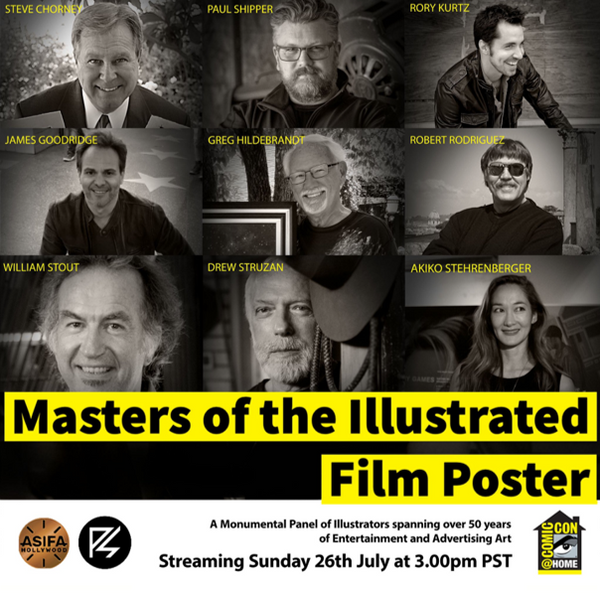 Masters of the Illustrated Film Poster - The Sequel at Comic-Con 2020