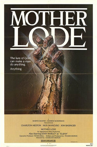 An original movie poster for the film Mother Lode
