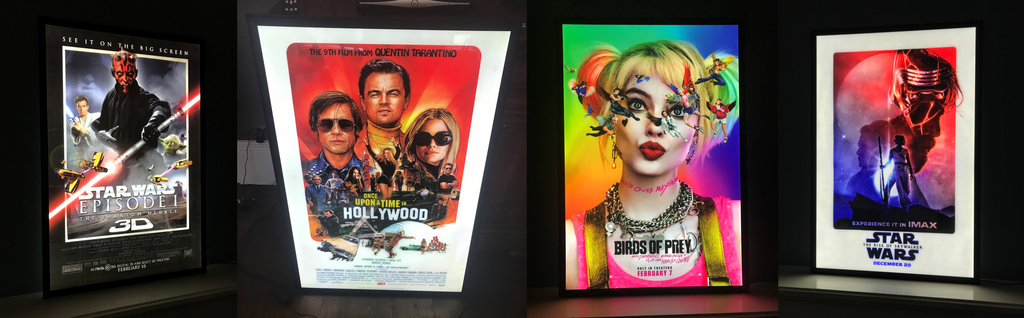 Movie Poster Light Boxes