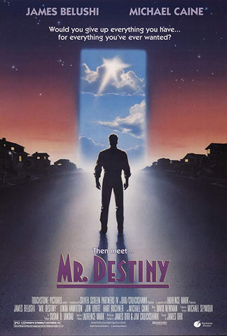 An original movie poster for the film Mr Destiny by John Alvin