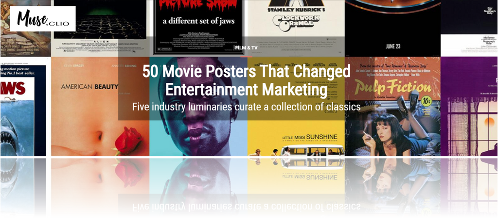 Muse By Clios 50 Movie Posters That Changed Entertainment Marketing