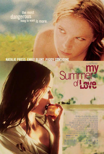 An original movie poster for the film My Summer Of Love