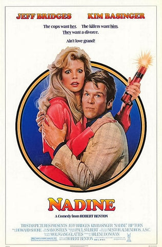 An original movie poster for the film Nadine