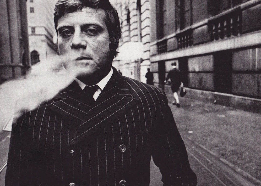 Oliver Reed, photographed in 1969