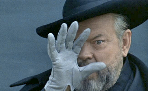 Film-maker and actor Orson Welles