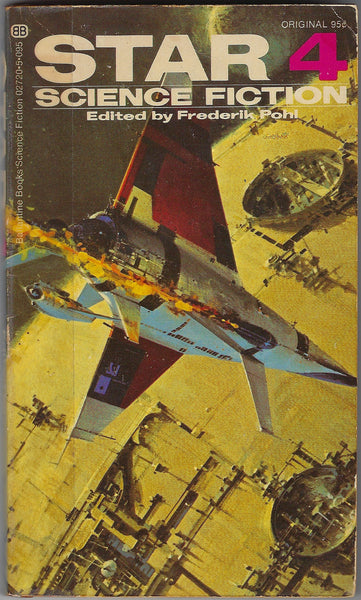 The cover of STAR Science Fiction 4 with artwork by John Berkey