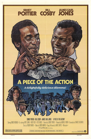 An original movie poster for the film Piece of the Action