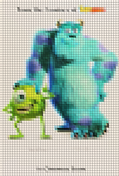 The ART OF THE MOVIES Pixelated Movie Poster Quiz
