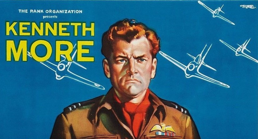 Detail from the One Sheet Movie Poster for Reach for the Sky