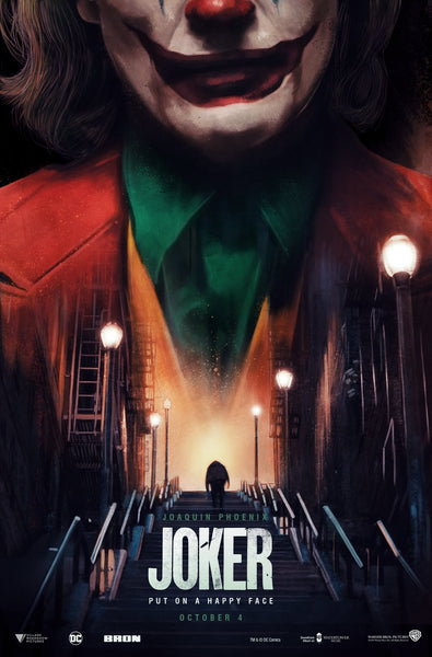 An official movie poster for the movie Joker by Richard Davies